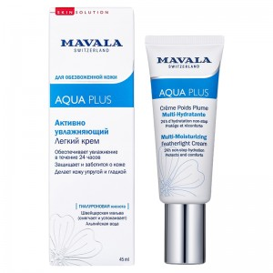 Mavala Активно увлажняющий легкий крем (Face Care | Aqua Plus Multi-Moisturizing Featherlight Cream) 9052214 45 мл