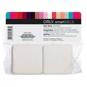 Orly Салфетки безворсовые (Smart Gels | Lint Free Wipes) 53527 1 уп.
