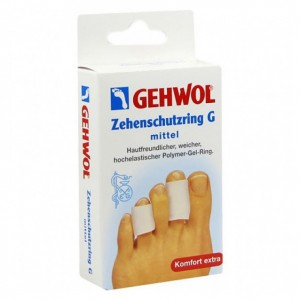 Gehwol Гель-кольцо G, малое, 25 мм (Comfort / Toe Protection Ring G) 1*26925 2 шт.