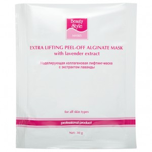 BeautyStyle Лифтинг-маска коллагеновая с экстрактом лаванды (One-phase Collagen Lifting Masks / Lavender Extract) 4503304 30 г