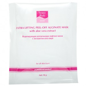 BeautyStyle Лифтинг-маска коллагеновая с экстрактом алоэ вера (One-phase Collagen Lifting Masks / Aloe Vera Extract) 4503301 30 г