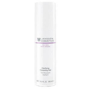 Janssen Очищающий гель (Oily Skin / Clarifying Cleansing Gel) 4400P 500 мл