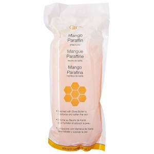 GiGi Wax Парафин с ароматом манго (Парафинотерапия / Mango and Shea Paraffin) 39115 453 г
