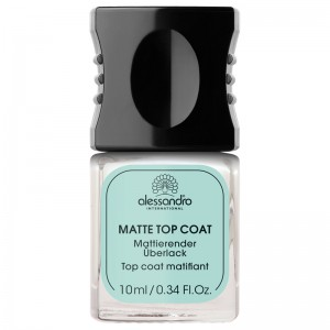 Alessandro Матовое верхнее покрытие (Base&Top Care / Matte Top Coat) 03-012 10 мл