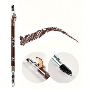 Kiss Archh Карандаш для бровей с точилкой (Make Up / Light Brown wooden pencil) RBWP04 1 шт.