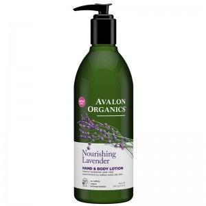 Avalon Organics Лосьон для рук и тела с маслом лаванды (Body Care / Lavender) AV35200 340 мл