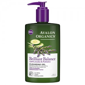 Avalon Organics Гель для демакияжа (Lavender Skin Care | Facial Cleansing Gel) AV35309 237 мл