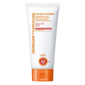 Germaine de Capuccini Эмульсия солнцезащитная SPF-50 (Golden Caresse / High Protection And Comfort Fluid Emulsion) 81180 150 мл