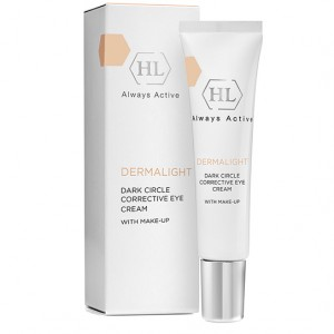 Holy Land Корректирующий крем с тоном (Dermalight / Dark Circle Corrective Eye Cream Make-up) 128029 15 мл