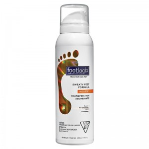 Footlogix Антиперспирант для ног (Foot Care / Sweaty Feet Formula) FXP05R0125-5 119,9 г