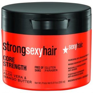 Sexy Hair Маска восстанавливающая для прочности волос (Strong / Core Strength Nourishing Anti-Breakage Masque) 43CS06 200 мл