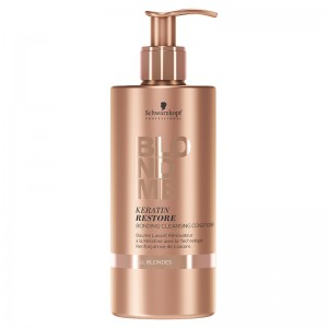 Schwarzkopf Очищающий кондиционер (BlondMe | Keratin Restore Bonding Cleansing Conditioner) 2153601 500 мл