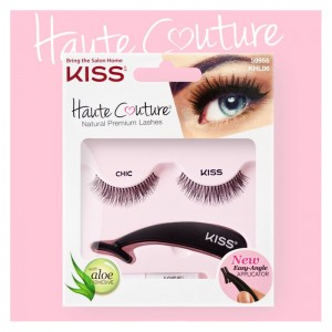 Kiss Накладные ресницы (Haute Couture / Single Lashes Chic) KHL06GT 1 уп.