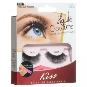 Kiss Накладные ресницы (Haute Couture / Single Lashes Lust) KHL03GT 1 уп.