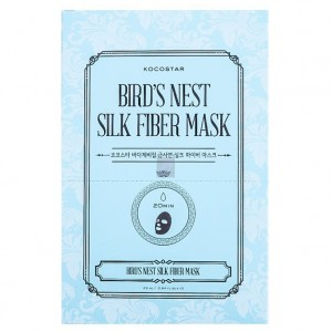 Kocostar Дерматропная маска для лица Гнездо Салангана (Face Care / Bird's Nest Silk Fiber Mask) 20-0022 25 мл