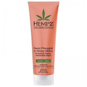 Hempz Гель для душа Ананас и Медовая дыня (Herbal Body Moisturizer  Wash | Sweet Pineapple&Honey Melon) 2289-03 250 мл