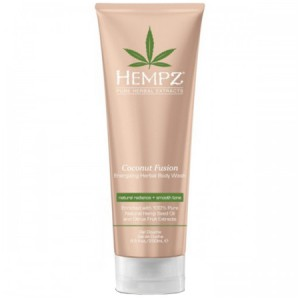 Hempz Гель для душа Бодрящий Кокос (Herbal Body Moisturizer  Wash | Coconut Fusion) 2243-03 250 мл