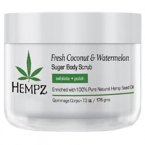 Hempz Скраб для тела Кокос и Арбуз (Sugar Body Scrub | Fresh Coconut&Watermelon) 2239-03 176 мл
